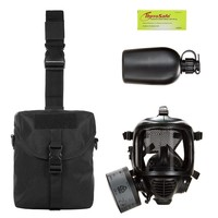 MIRA Safety Military Gas Mask & Nuclear Survival Kit
