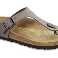 Gizeh Stone Birkibuc Sandals | Birkenstock USA Official Site