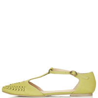 HACIENDA Woven T-Bar Shoes - Memorial Day 20% Off - Sale & Offers - Topshop USA