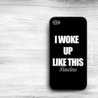 Beyonce I Woke Up Like This iPhone 5s Case / iPhone 4s Case / Galaxy S4 Case / Galaxy S3 Case / iPad Case / Galaxy Note Case