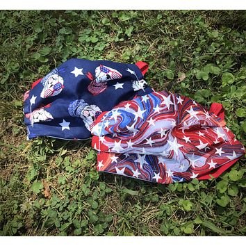Patriotic Washable Face Mask - Protective Face Covering