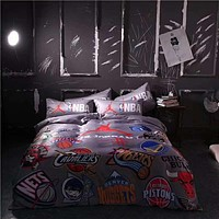 Trendy Printed Designer 4 Pcs Duvet Cover Set
