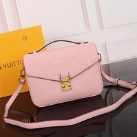 DCCK Lv Louis Vuitton Gb2974 M40780 Pochette Metis Leather Embossed Handbag Pochette Metis25x19x9 Cm