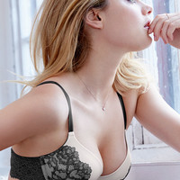 NEW! Push-Up Bra withLace Print