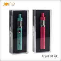 RU/US Stock!! 2017 Jomotech Royal 30 Box Mods 30W Electronic Cigarettes 1150mAh Vape Pen eCigarette Kits with 2ML Tank Jomo-108