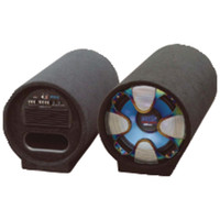"""Pyle Pro Blue Wave Series Amplified Subwoofer Tube System (12"""" 800 Watts)"""