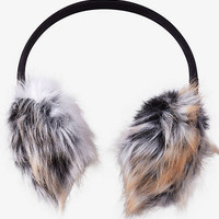 Faux Fur Earmuffs from EXPRESS