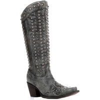 C2791 Corral Women's Full Studded Western Boots from Bootbay, Internet's Best Selection of Work, Outdoor, Western Boots and Shoes.