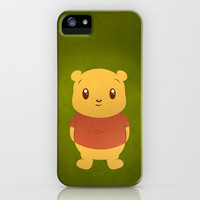 Cute Winnie the Pooh Bear iPhone Case by Gerald Briones | Society6