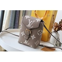 2021 NEW LV Louis Vuitton M80738 MONOGRAM Empreinte LEATHER By The Pool SUMMER Tiny BACKPACK HANDBAG TOTE BAG