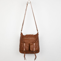 T-Shirt & Jeans Tribal Tab Crossbody Bag Cognac One Size For Women 24210240901