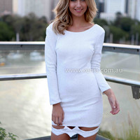 MY WAY IN SEQUIN DRESS , DRESSES, TOPS, BOTTOMS, JACKETS & JUMPERS, ACCESSORIES, SALE NOTHING OVER $25, PRE ORDER, NEW ARRIVALS, PLAYSUIT, GIFT VOUCHER,,White,Sequin Australia, Queensland, Brisbane