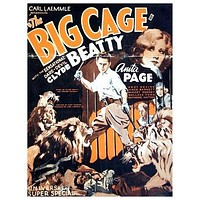 The Big Cage Poster//The Big Cage Movie Poster//Movie Poster//Poster Reprint