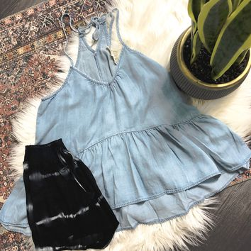Denim Dream Top