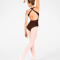 Free Shipping - Adult Cross Back Halter Leotard by MOTIONWEAR