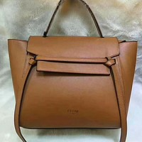 Celine Women Fashion Leather Satchel Shoulder Bag Handbag