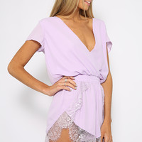 Embrace Playsuit - Lilac