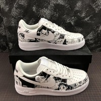 SLAM DUNK x  Nike Air Force 1 Low '07 AF1 Customs Fashion Shoes - Best Online Sale