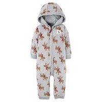 Baby Boys' Fleece Hooded Moose Jumpsuit Just One You™ Made by Carter's®