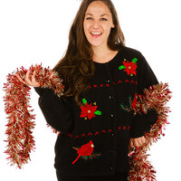 Vaguely Christmassy Red Things Ugly Christmas Sweater