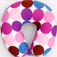 Multicolor Color U Shaped Neck Pillow Micro Beads For Rest Airplane Car Travel Pillow Foam Pillow Bedding Set