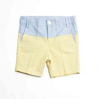 Colorblock Burmuda Short