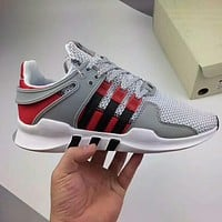 Adidas EQT New fashion sports running net shoes Gray