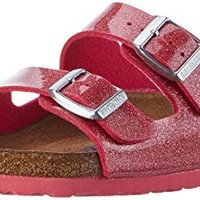 Birkenstock 1003157 Arizona Magic Galaxy Bright Rose Soft Footbed Birko-Flor - Narrow - All Sizes Brand New