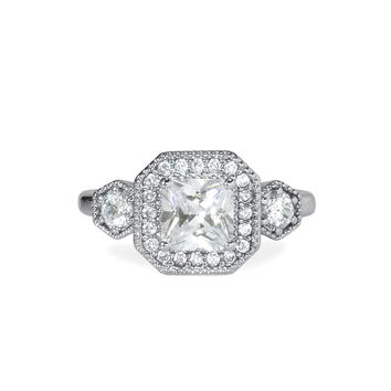 Deco Cocktail Ring - Size 8