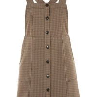 Heritage Checked Pinafore Dress | Topshop