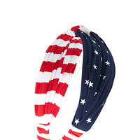 Stars & Stripes Knotted Headwrap