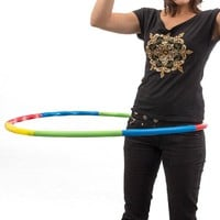 Collapsible Hula-Hoop for Fitness