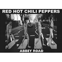Red Hot Chili Peppers Abbey Road Poster 23x33