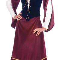 Womens Medieval Wench Renaissance Costume