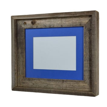 8x10 eco friendly wood frame with 5x7 mat