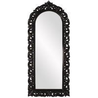 Orleans Black Arched Mirror