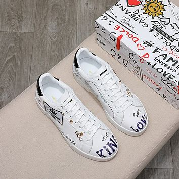 DG  Men Fashion Boots fashionable Casual leather Breathable Sneakers Running Shoes  0322EM