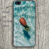 Pineapple  water iphone 6 6 plus iPhone 5 5S 5C case Samsung S3, S4,S5 case, Ipod touch Silicone Rubber Case Phone cover Waterproof