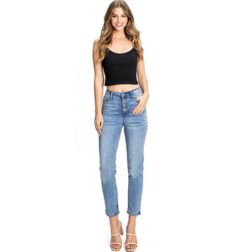 Melody Slim Straight Jeans