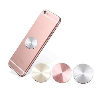 Fashion Metal Plate Magnetic disk for Car Phone Holder Accessories Stand Matte Stainless Iron Sheets For Magnet Phone Support