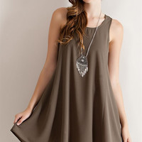 Athens shift dress