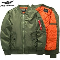 Asstseries Bomber Jacket Men Army Military Jacket Men Mens Air Force Jackets And Coats Oversize 6XL Tactical Jacket For Men.DA36