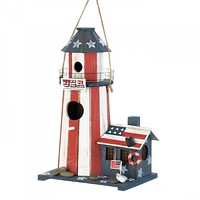 Two 4th of July Birdhouses
