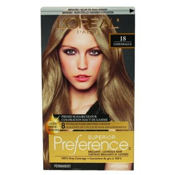 Buy L'Oreal Paris Superior Preference Medium Ash Blonde #18 Online in Canada   Free Shipping