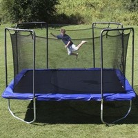 Skywalker Square Trampoline with Enclosure - 15'