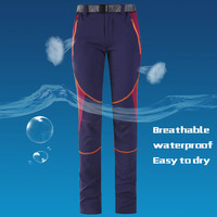 2016 Summer New Women Slim Anti-UV Outdoor Climbing Hiking Pants Camping Fishing Quick Dry Breathable Sports Pants Female K0001