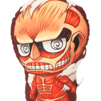 Attack On Titan Trio Colossal Titan Pillow
