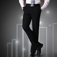 Men's Slim Fit Business Dress Slacks/Pants