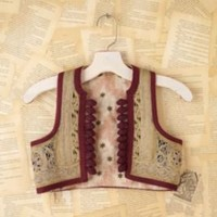 Vintage Costume Vest at Free People Clothing Boutique