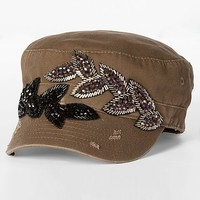 Olive & Pique Beaded Military Hat - Women's Hats | Buckle